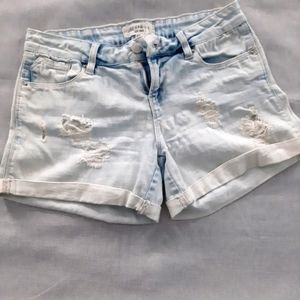 🌞3/$25🎉 Bleached and Ripped Jean Shorts